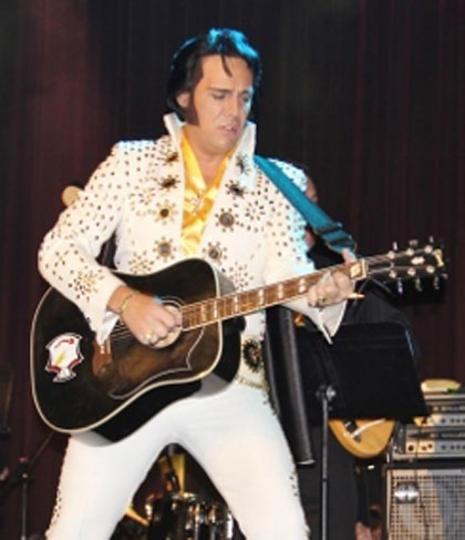 Shawn Klush Elvis