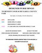 Purse BINGO Flyer
